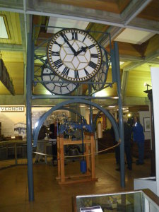 Restored 1912 Vernon Post Office Clock