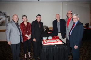 Parkland Executive at the 25th anniversary banquet